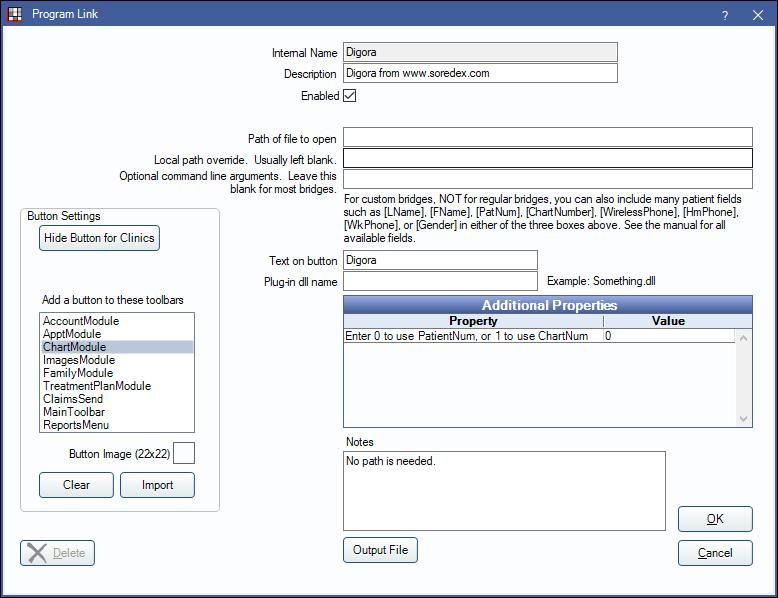 digora optime software